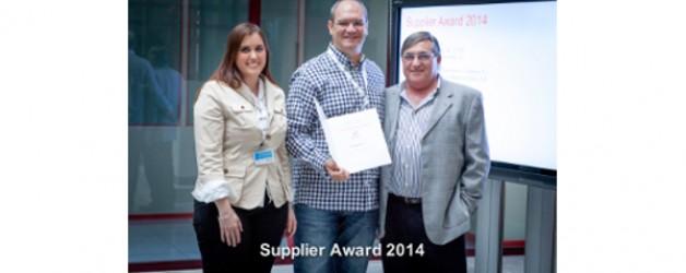 Luezar-Eco seleccionado Schindler como uno de sus mejores proveedores del 2014