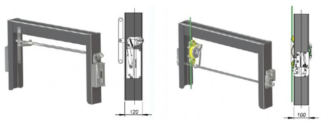 New product. Linkage line for counterweight
