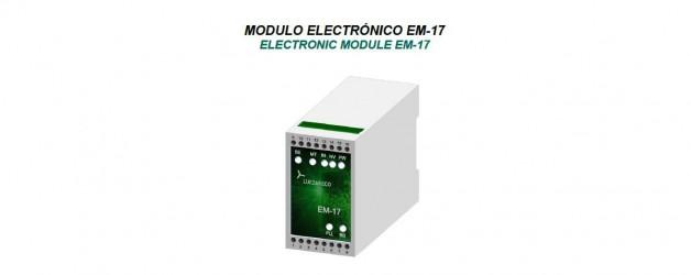 Sistema de protección contra movimientos incontrolados de cabina Modulo ELECTRÓNICO EM-17